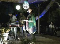 """Jam Session poética en Casa l'Art Novelda. 9/16 I Festival de poesía contemporánea de Novelda. """"Veus de la Mediterranea""""  Koroa Batekin recita La carta de la luna y Poemas encontrados."""