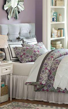 Ruflicious Quilt #teen #rooms