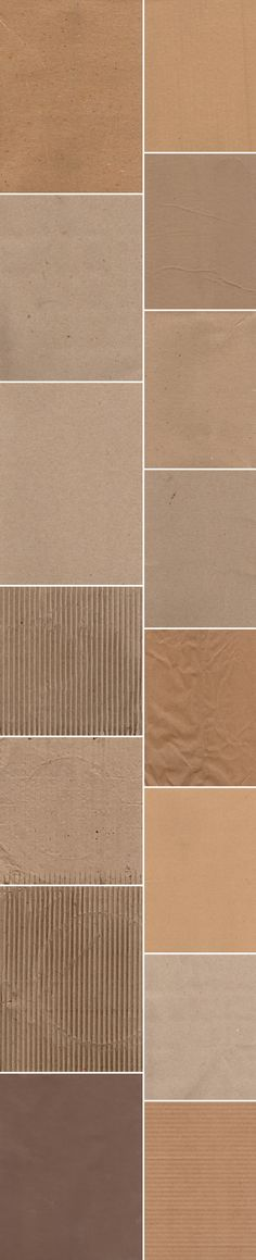 Get your design freebie -  15 Brown Paper and Cardboard Textures #textures #jpg #freebies