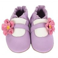 Robeez Flower Girl Soft Soles, available at babyworks!