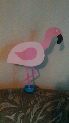 The flamingos were possibly more popular with the parents than the toddlers!