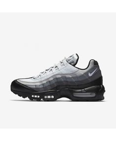 848ed3423 Nike Air Max 95 Essential Black Dark Grey White 749766-022 Nike Air Max  Trainers