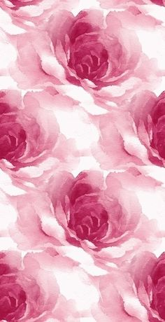 iPhone Wallpaper gorgeous watercolor rose print