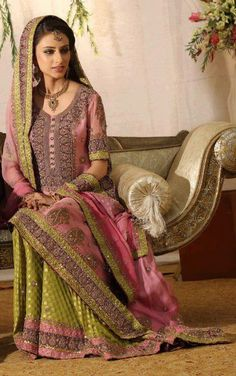 Pakistani bride. #PerfectMuslimWedding.com