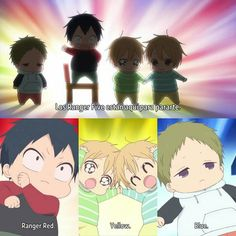 All Anime, Me Me Me Anime, Manga Anime, Anime Stuff, Otaku, Ranger, Gakuen Babysitters, Love Stage, Anime Child