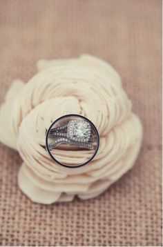 Lovely cushion cut ring (Photo by Amelia J. Moore)