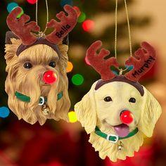 Flashing LED Dog Nose Ornament