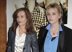 Isabelle Huppert et Lolita Chammah