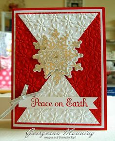 Stampin' Everything!: Festive Flurry Flakes