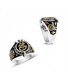 Gümüş Kartal Pençeli Hiç Yazılı Erkek Yüzüğü EY719