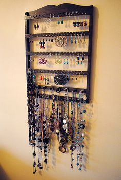 Image result for jewelry back chair holder