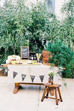 Wedding food ideas - cheese table