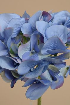 """19"""" HYDRANGEA STEM BLUE - GandGwebStore.com has a wide variety of silk flowers that you can use to decorate any event, party or just your favorite vase."""