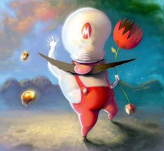 <b>Between the awesome, adorable, and terrifying, there's a lot to like when it comes to Mario fan art.</b> Sit back, nibble on a mushroom, and enjoy.