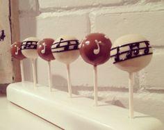 Music Note Cake Pop