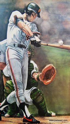 Will Clark / San Francisco Giants Baseball Art, Giants Baseball, Baseball Players, Baseball Odds, Baseball Quotes, Baseball Stuff, Giants Players, The Sandlot, My Giants