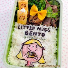 Little Miss Bento  シャリーのかわいいキャラベン: 'Little Miss Bento' Bento 「リトルミス・弁当」のキャラベン
