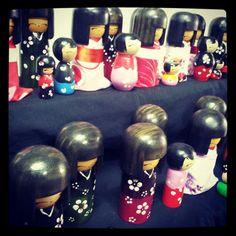 Kokeshi by Yoshi Lucky Dolls
