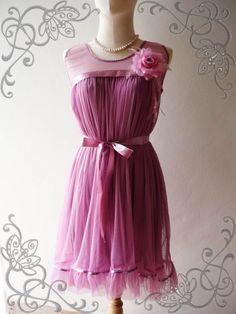 Sweet bridesmade dress idea! :)