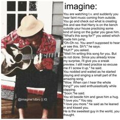 ohh I just love Harry imagines