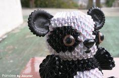3d origami panda « Community « 3D Origami Art