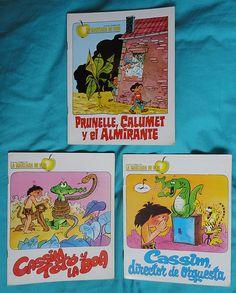 Vintage books / Libros coleccion La manzana de oro   by misstaito