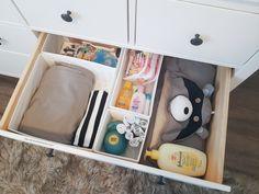 Nursery Dresser Organization, Organizer, Live