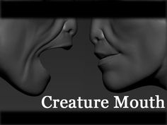 Zbrush - Creature Mouth / Next Step After Dynamesh Zbrush Tutorial, 3d Tutorial, I Will Show You, Give It To Me, 3d Video, Maya, Sculpting, Creatures, Study