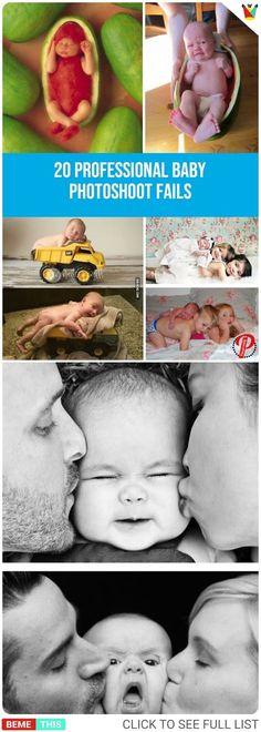 20 Comical Fails When Parents Tried Professional Baby Photoshoot #babies #kids #parents #parenting #photoshoot #professionalphotoshoot #photos #funnypictures #fail #bemethis