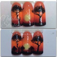 Fotos de adekvat_nail_masters Monogram Nails, Fruit Nail Art, Fun Nails, Nice Nails, Manicure Y Pedicure, Summer Nails, Nail Art Designs, Projects To Try, Canvas Art