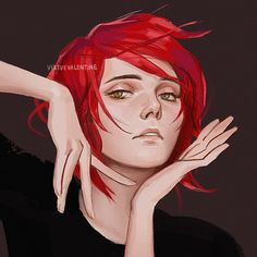 I find a lot of value in doing studies every once in a while. One goal that I'm constantly thinking about is to try to improve on capturing… My Chemical Romance, Batman, Arte Emo, Art Sketches, Art Drawings, Character Inspiration, Character Design, Emo Art, Mcr Memes