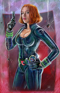 Black Widow Artist's Print) This will be shipped as an artist's print. Marvel Comics Superheroes, Marvel Girls, Comics Girls, Marvel Characters, Marvel Heroes, Captain Marvel, Female Characters, Marvel Avengers, Marvel Females