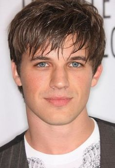 Layered-Bangs Hairstyle for Men with Large Forehead