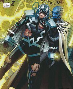 Black Bolt and Supergiant