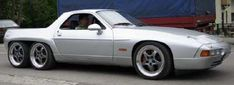 Porsche 928 GTS pickup. This thing is real: https://www.youtube.com/watch?t=41&v=YClqEQftcdY