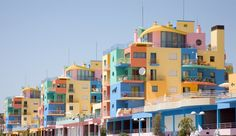 Albufeira Marina - Places to Discover in Portugal, Honeymoon Photos by WeddingWire Travel on WeddingWire