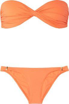 Martinique twisted bandeau bikini