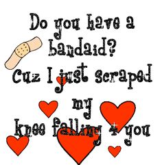 cool Funny I love you quotes to be shared on valentines day If yes then you are at the right place. You will get a latest New and Funny I love you Quotes 2016 Corny Pick Up Lines, Romantic Pick Up Lines, Bad Pick Up Lines, Funny Love Images, Funny Picture Quotes, Funny Quotes, Funny Pictures, Funny Memes, Hilarious