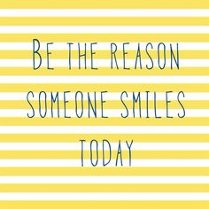 Today's the day to put down the phone and make a human connection.  Make someone smile today.  Make someone laugh.