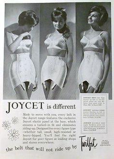 Cute Young Girls Bra Garter Girdle Joycet Underwear Vtg 1963 Magazine Print Ad | eBay