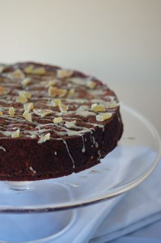 Lemon, date and ginger cake on the ever-scrumptious Poires au Chocolat blog.