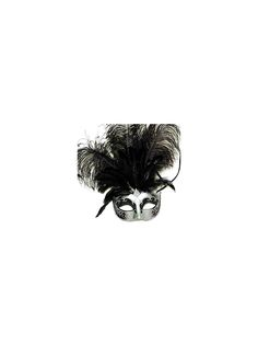 Make your grand entrance into the masquerade this year a memorable one with this Venetian Feather Mask