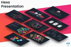 Hexa - Keynote Template by inspirasign on @creativemarket