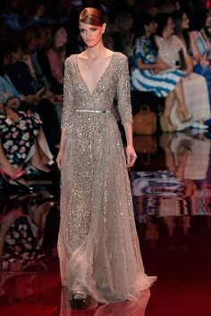 Elie Saab Fall 2013 couture show. Photo by Getty Images.
