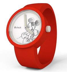 Red Mickey Mouse Disney Watch
