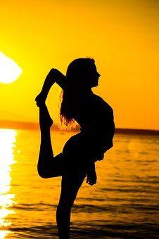 Sonnenuntergang, Strand, Sommer