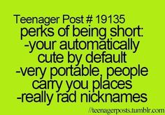 Teenager posts: especially the your automatically cute by default!!