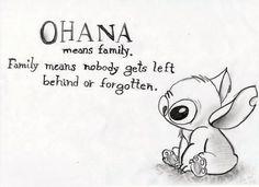OHANA means family...