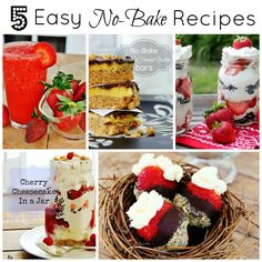 Five Easy No Bake Re