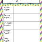 Calendar Pages for Planning ...